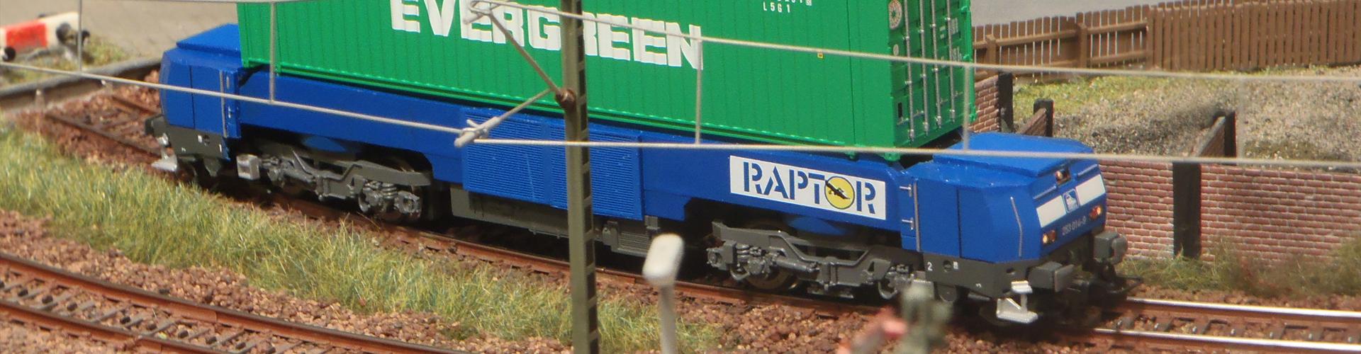 AGV op het spoor